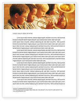 Art & Entertainment: Music School Letterhead Template #01806