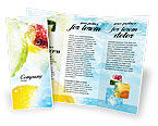 Food & Beverage: Soft Drink Brochure Template #01808