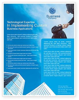 Business meeting outdoor flyer template background in microsoft business meeting outdoor flyer template 01818 business poweredtemplate accmission