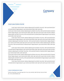 Exceptional Real Estate Letterhead Template, 01859, Careers/Industry U2014  PoweredTemplate.com  Free Word Letterhead Template