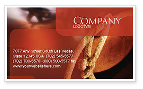 Art & Entertainment: Spur Business Card Template #01875