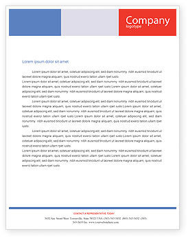 Business Concepts: Property Insurance Letterhead Template #01878