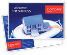 Business Concepts: Property Insurance Postcard Template #01878