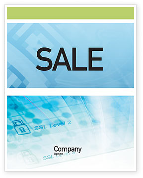 Abstract/Textures: Data Security Sale Poster Template #01879