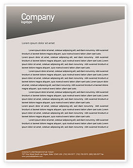 Office Labyrinth Letterhead Template, 01883, Business Concepts — PoweredTemplate.com