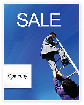 Career Development Sale Poster Template