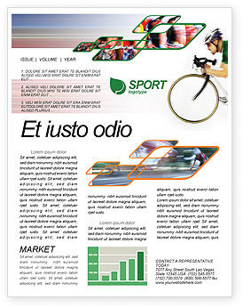 Sports: Tour de France Newsletter Template #01895