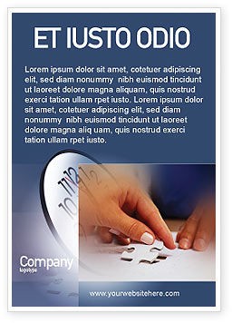 Business Concepts: Puzzle Ad Template #01897