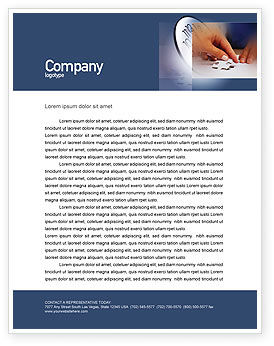 Puzzle Letterhead Template, 01897, Business Concepts — PoweredTemplate.com