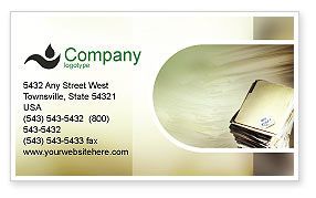 Document Management Business Card Template, 01903, Business — PoweredTemplate.com