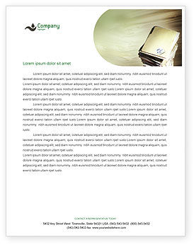 Business: Document Management Letterhead Template #01903