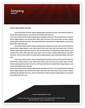 Construction: Road Building Letterhead Template #01909