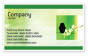 Private Place Business Card Template, 01912, Careers/Industry — PoweredTemplate.com
