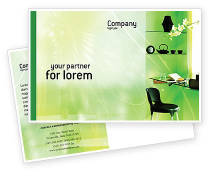 Private Place Postcard Template