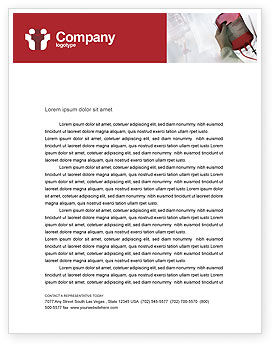 Medical: Blood Transfusion Letterhead Template #01917