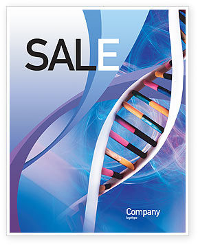 Technology, Science & Computers: Double Spiral Sale Poster Template #01923