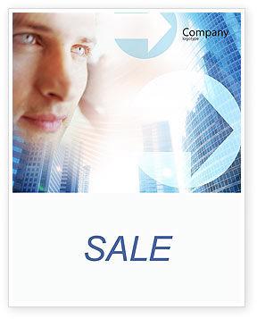 Telecommunication: Modern Telecommunication Sale Poster Template #01926