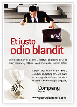Careers/Industry: Winst Advertentie Template #01928