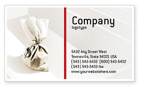 Careers/Industry: Profit Business Card Template #01928