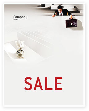 Profit Sale Poster Template, 01928, Careers/Industry — PoweredTemplate.com