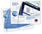 Financial/Accounting: Stock-Market Brochure Template #01931