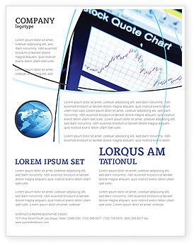 Stock-Market Flyer Template