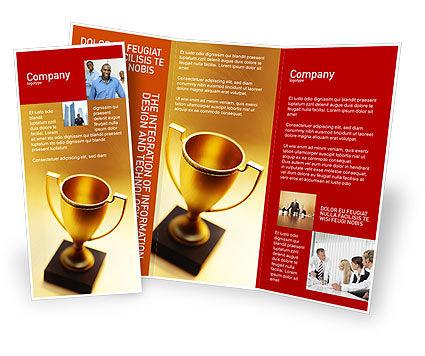 Sports: Modèle de Brochure de tasse gagnante #01933