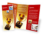 Sports: Plantilla de folleto - taza ganadora #01933