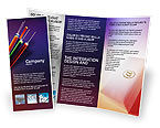 Telecommunication: Internet Links Brochure Template #01935