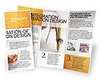 Careers/Industry: Draftsman Brochure Template #01937