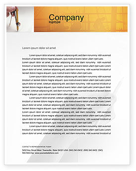 Draftsman Letterhead Template, 01937, Careers/Industry — PoweredTemplate.com