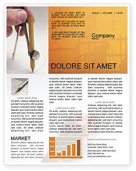 Draftsman Newsletter Template, 01937, Careers/Industry — PoweredTemplate.com