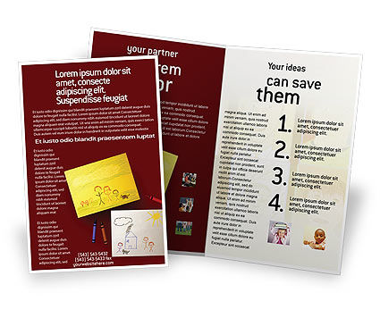 Drawing Brochure Template