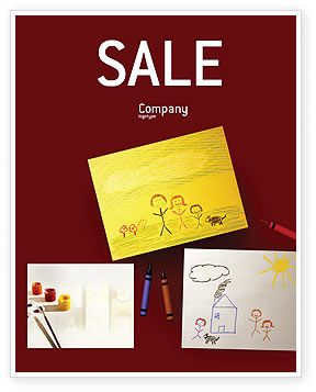 Art & Entertainment: Drawing Sale Poster Template #01939