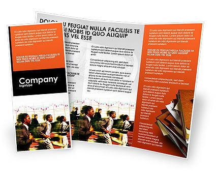 Business Concepts: Rate Brochure Template #01944