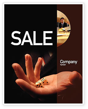Fortune Sale Poster Template, 01947, Business Concepts — PoweredTemplate.com