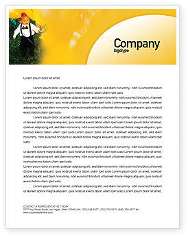 Kid Party Letterhead Template
