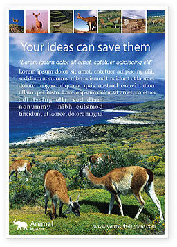 Pampa Ad Template, 01950, Agriculture and Animals — PoweredTemplate.com