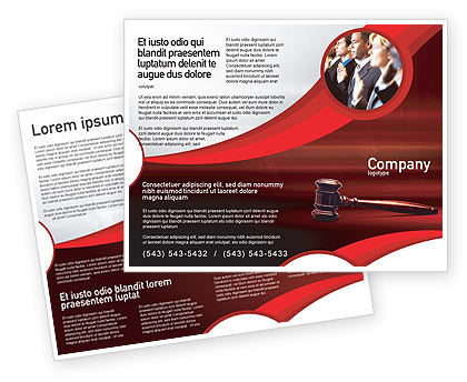 Judge Mallet Brochure Template