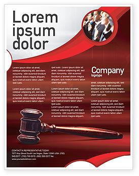 Legal: Templat Flyer Hakim Palu #01953