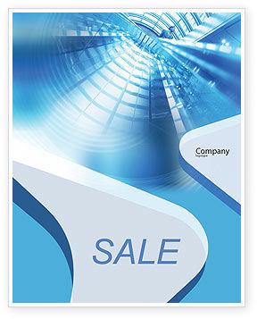 Business: Modelo de Cartaz - escritório predios corredor #01957