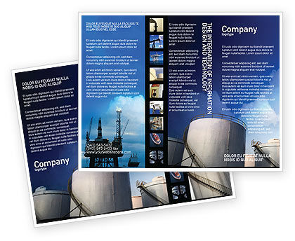 Fuel Tank Brochure Template
