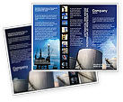 Utilities/Industrial: Fuel Tank Brochure Template #01958