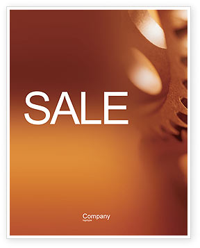 Construction: Gear Sale Poster Template #01959