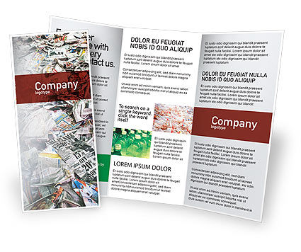 Nature & Environment: Recycle Industry Brochure Template #01961
