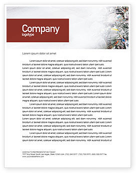 Recycle Industry Letterhead Template