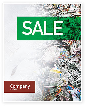 Recycle Industry Sale Poster Template