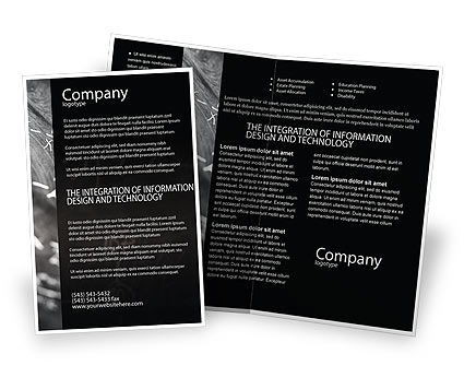 Education & Training: Business Logic Brochure Template #01962