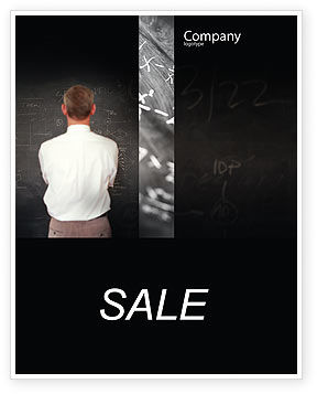 Business Logic Sale Poster Template, 01962, Education & Training — PoweredTemplate.com