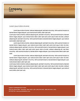 Business Discussion Letterhead Template